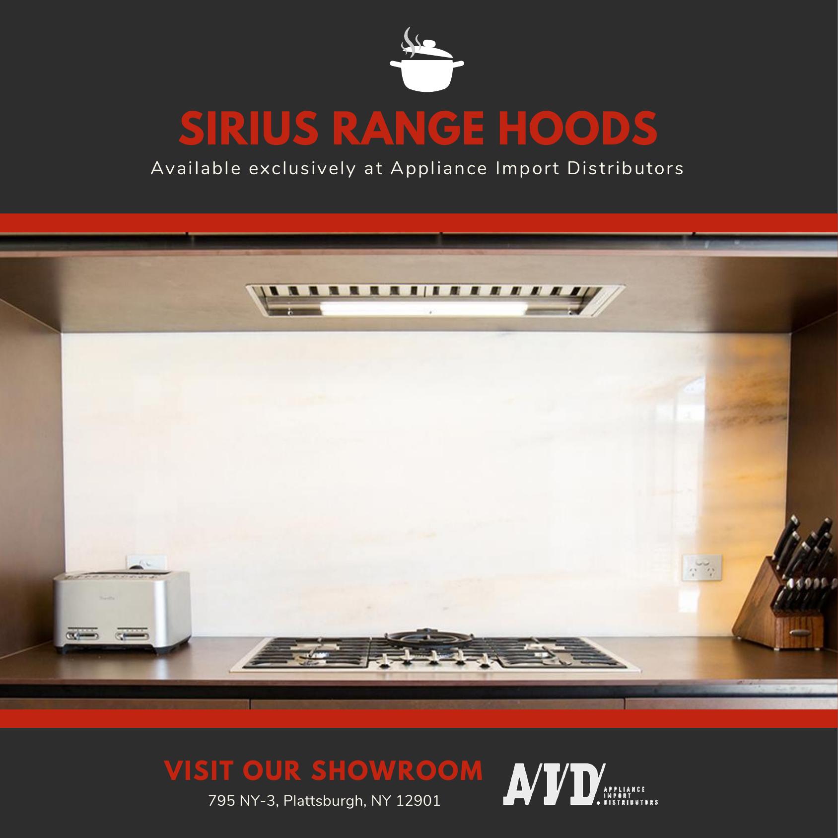 Make A Statement In Your Kitchen With Sirius Rangehoods