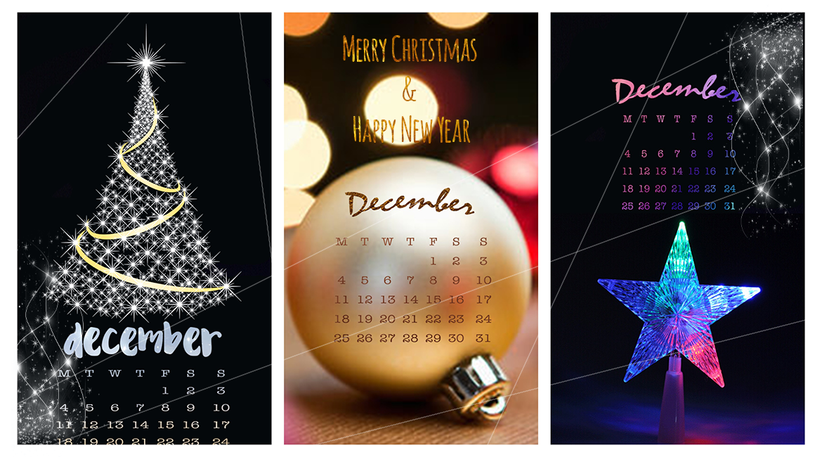 #Graphisme | Fond d'écran Iphone 7 Plus : Décembre festif | wallpaper, december, plan with me, christmas #decembrefondecran
