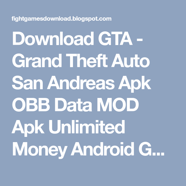 Grand Theft Auto: Vice City APK OBB Download - Install 1Click Obb Installer  for Grand Theft Auto: Vice City