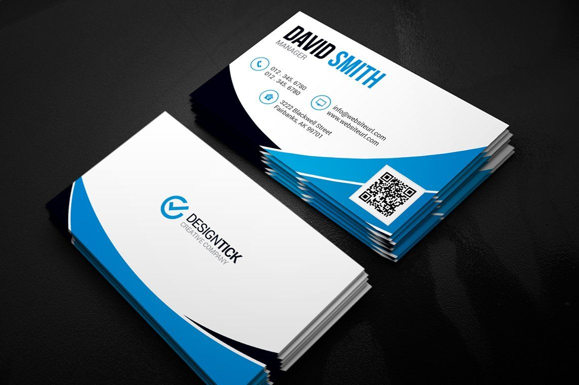 Modern Business Card Template Affiliate Fully Features Easily