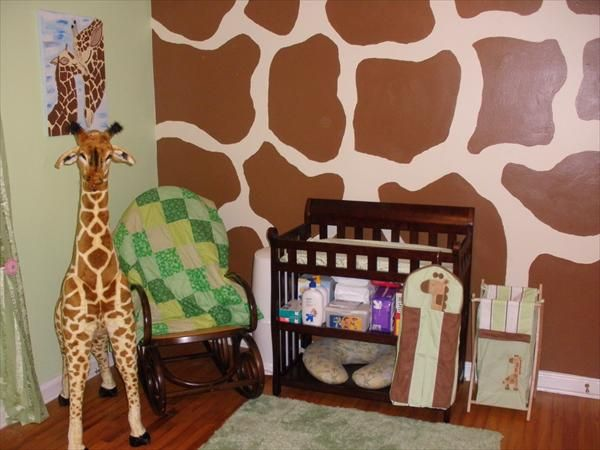 Love This Giraffe Themed Boy Nursery