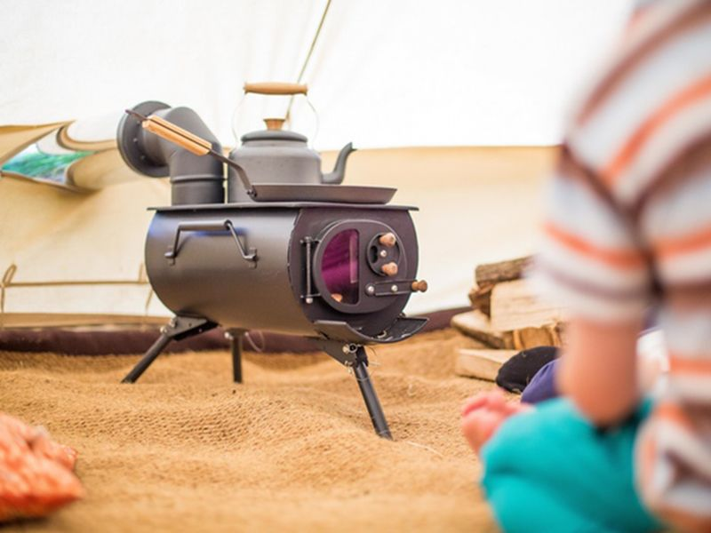 The Frontier Plus is a woodburning stove designed to accommodate tents sheds and more! & The Frontier Plus is a woodburning stove designed to accommodate ...
