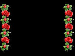 Image Result For Backgrounds And Borders Black And Red Red Roses Background Red Roses Border Design