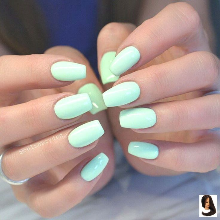 Nails Gel Short Simple , Nails Gel Short