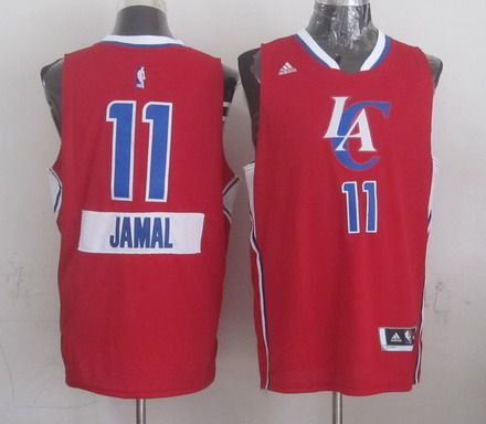 2a44c66c9 Los Angeles Clippers  11 Jamal Crawford Revolution 30 Swingman 2014  Christmas Day Red Jersey