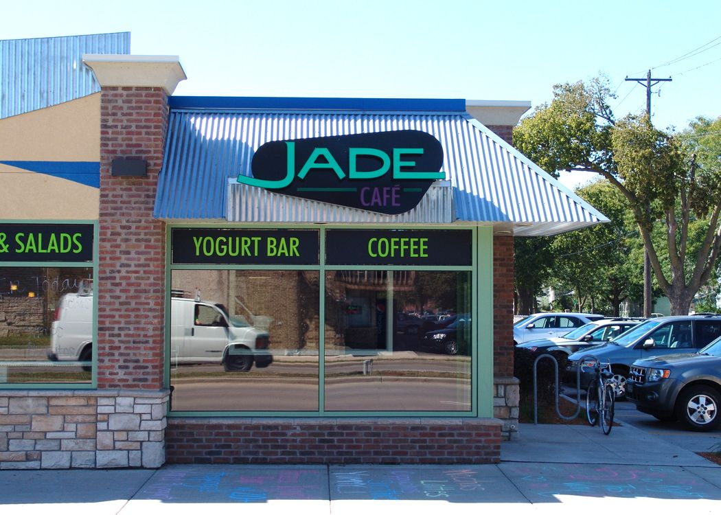 Car Dealerships In La Crosse Wi >> Outdoor Sign That We Designed And Created For Jade Cafe In