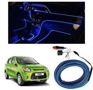 Maruti Suzuki Alto 800 Type 2 Car Dashboard 5m Car Interior Light Blue Price 400 Car Car Interior Car Body Cover