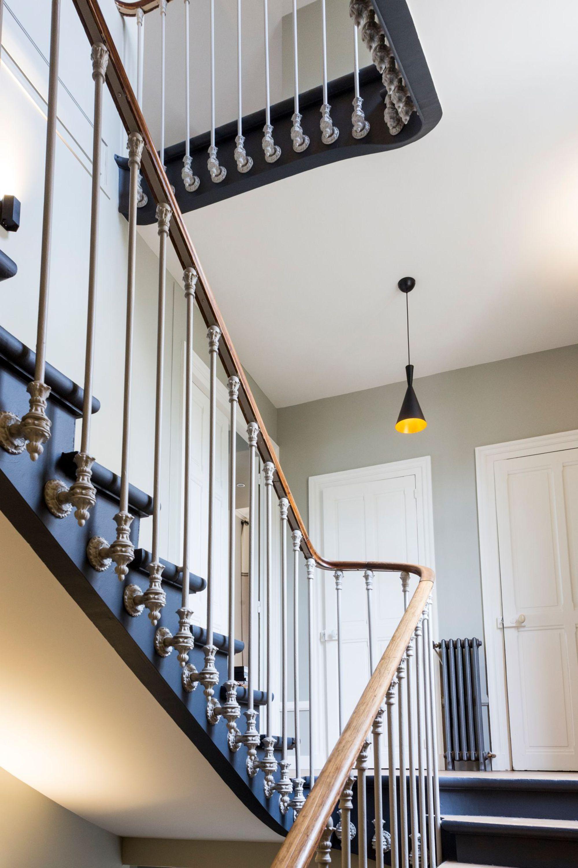 Idee Renovation Escalier Bois rénovation escalier bois : avant-après bluffant   escalier idées