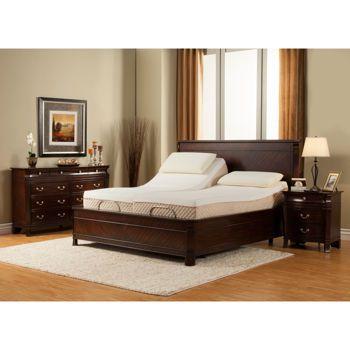 Black Diamond Split King Mattress With Adjustable Base Mattress Furniture Adjustable Beds Queen Size Memory Foam Mattress