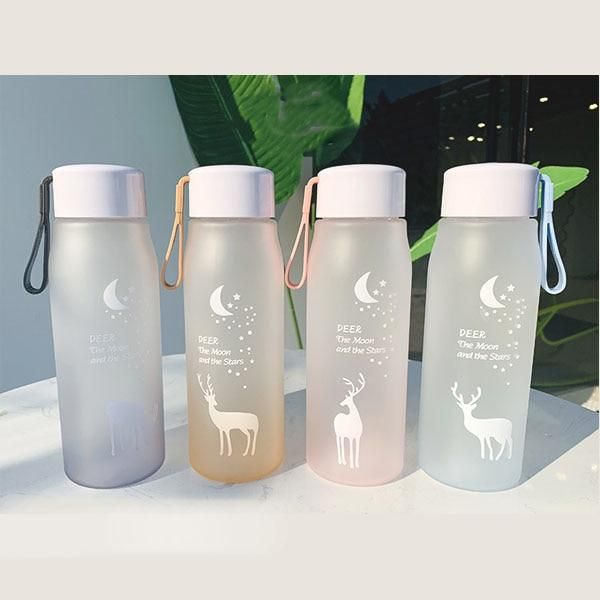 400//560ML Sports Drinking Water Bottle Leak-Proof Cycling Travel Cup Bottle Cup