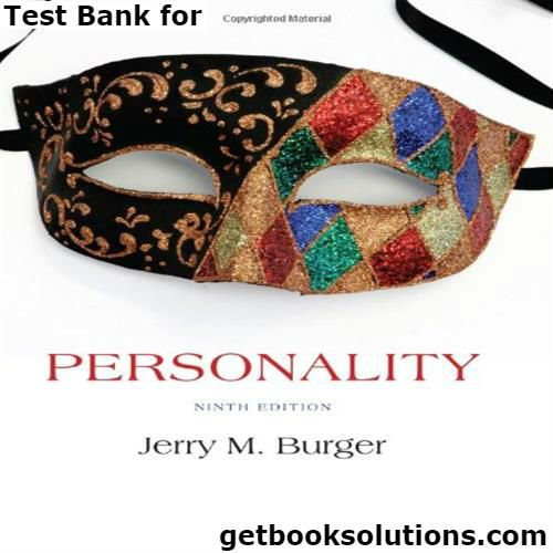 Test bank for personality 9th edition by burger download128574022x test bank for personality 9th edition by burger download128574022x9781285740225instant download personality 9th edition pdf fandeluxe Images