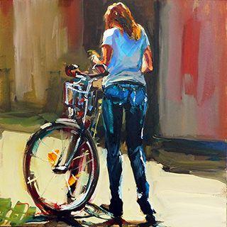 Jurij Frey: Mit dem Fahrrad