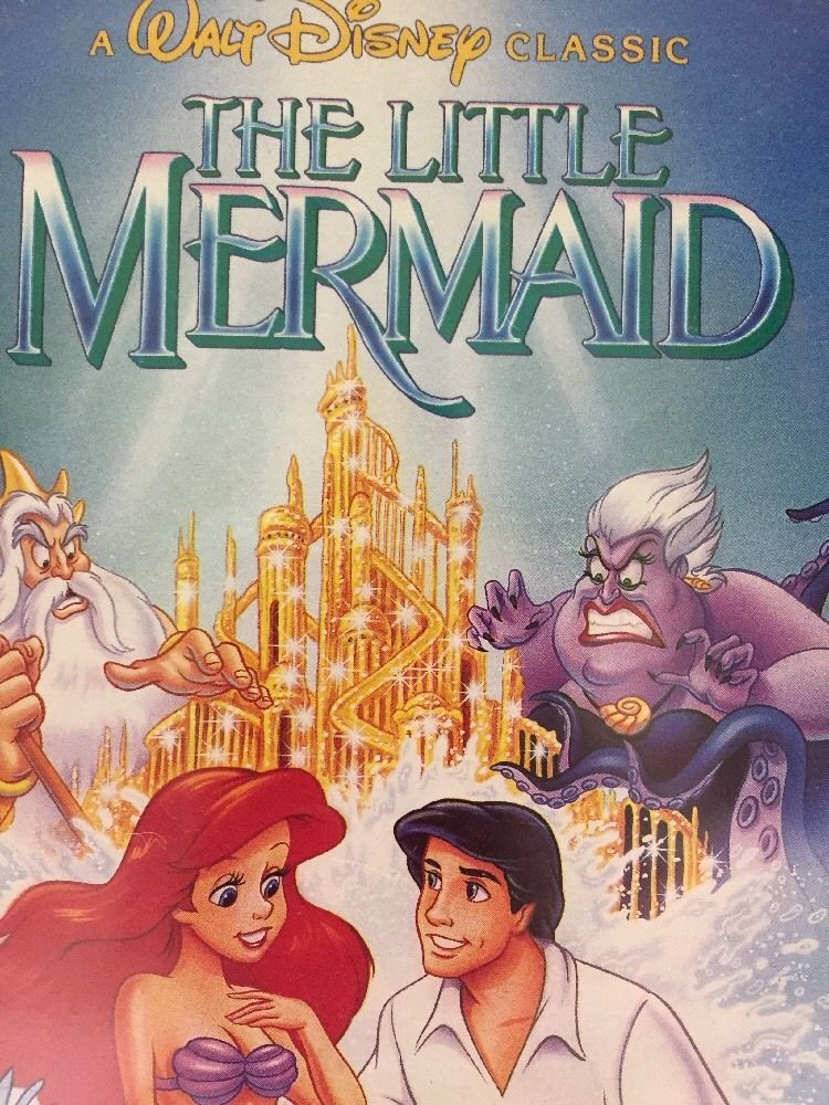 disney black diamond classic the little mermaid vhs banned