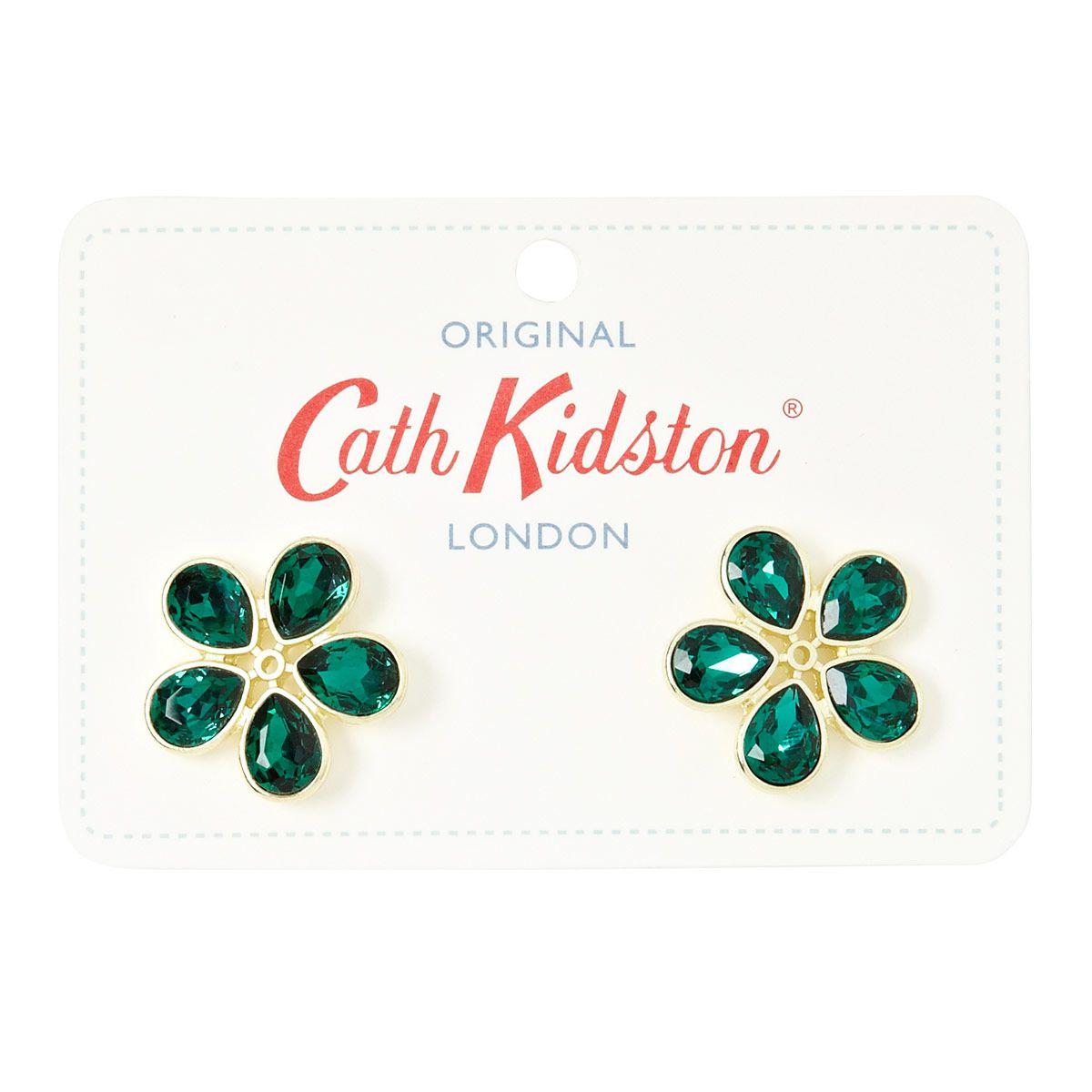 Cath Kidston Crystal Earrings Daisy Crystals Daisies
