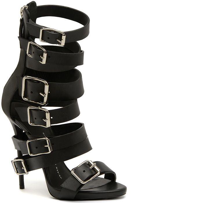 giuseppe zanotti buckle heels hurt