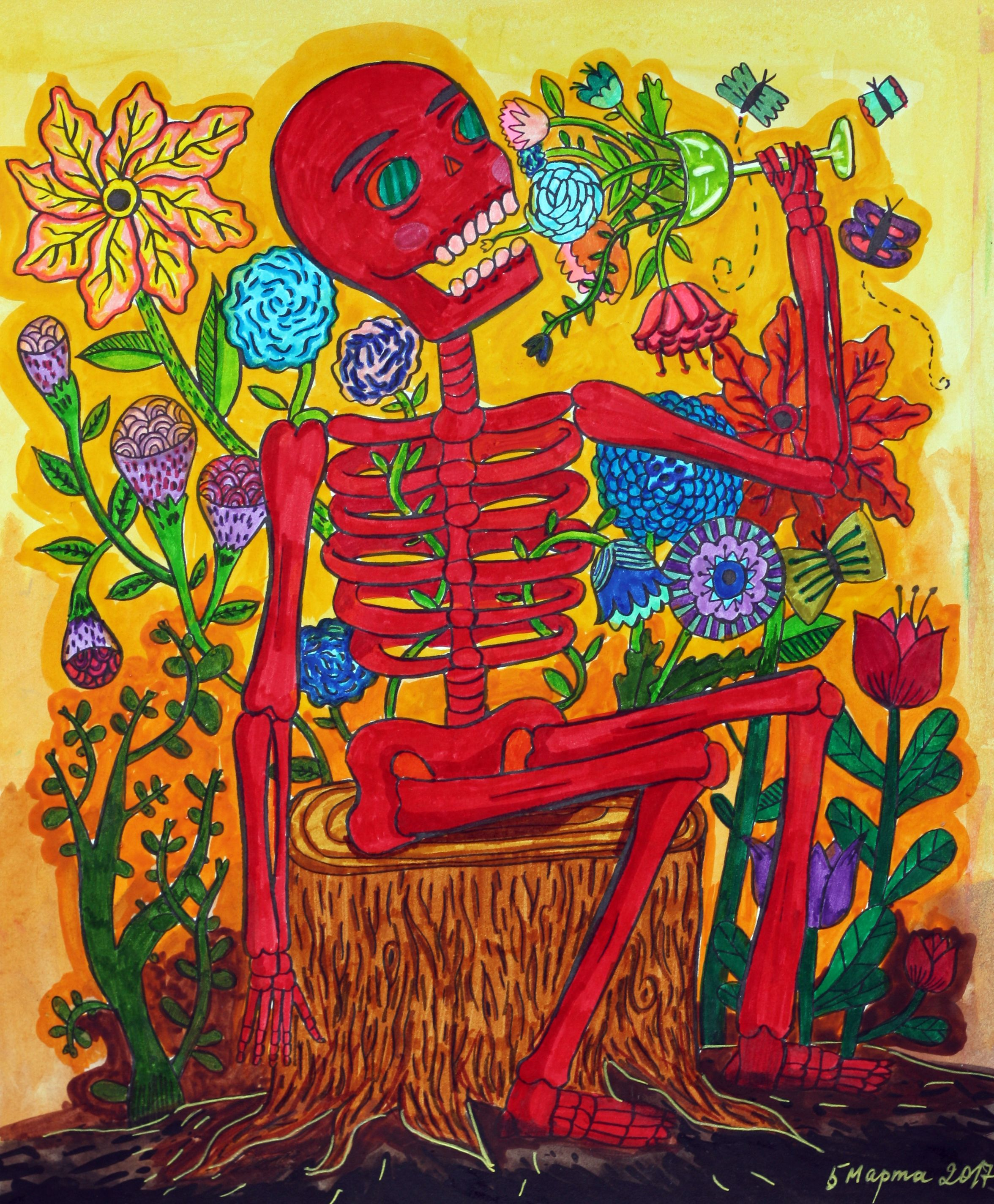 The coloring book of the dead - My Coloring Of Day Of The Dead Book By Sarah Walsh Coloring