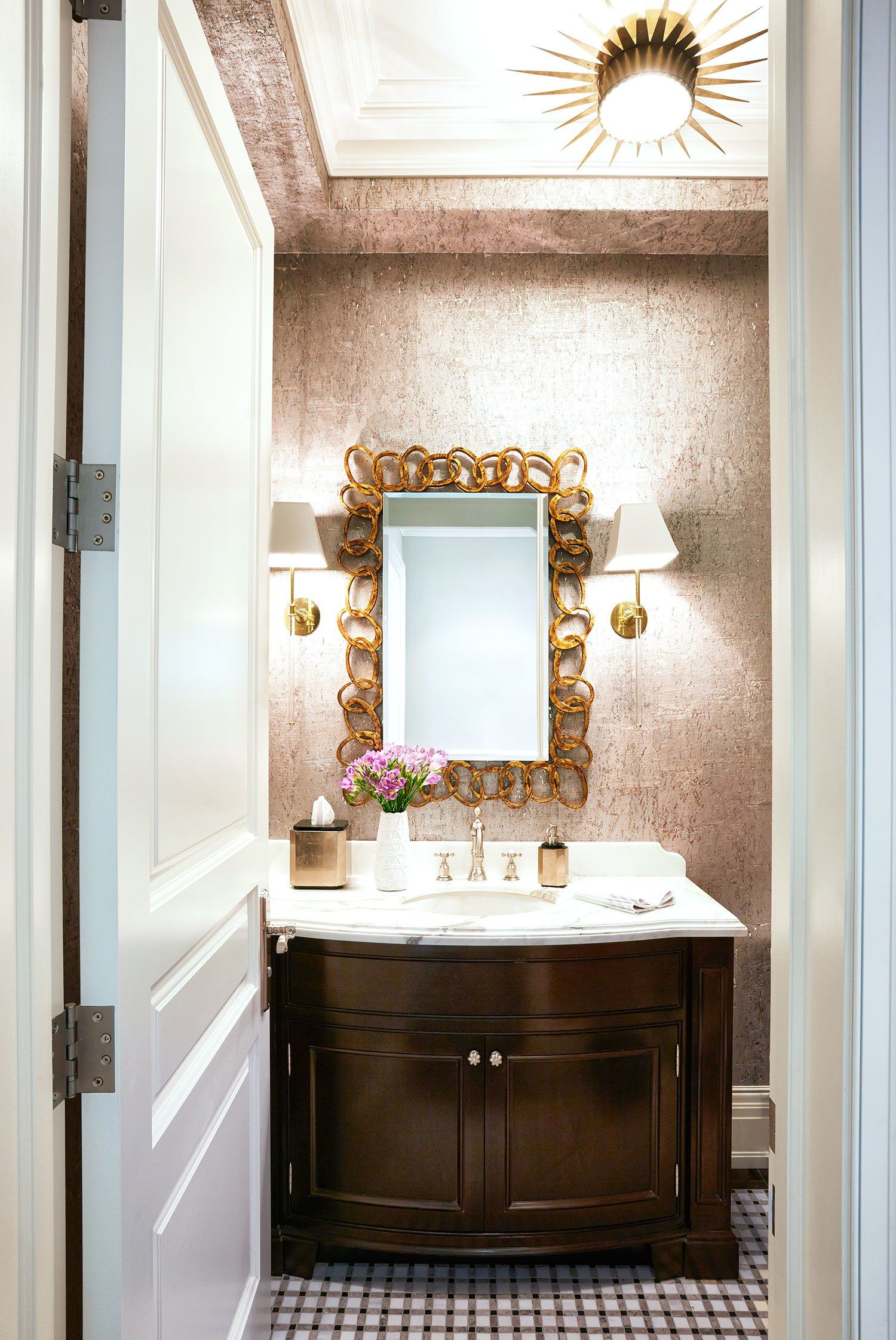 Bathroom Sconces Toronto a worldly and family-friendly home in toronto | architectural