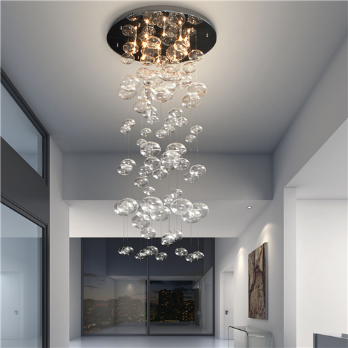 Ceiling Lights & Fans Fumat Modern Ceiling Light K9 Crystal Ball Lustre Mount Hallway Lighting Fixture Led Plafondlamp Luminaria Pendant Ceiling Lamp Comfortable And Easy To Wear Ceiling Lights