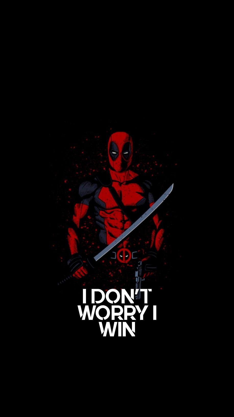 I Dont T Worry I Win Deadpool Artwork Deadpool Comic Deadpool Wallpaper Iphone 6 deadpool wallpaper hd 4k