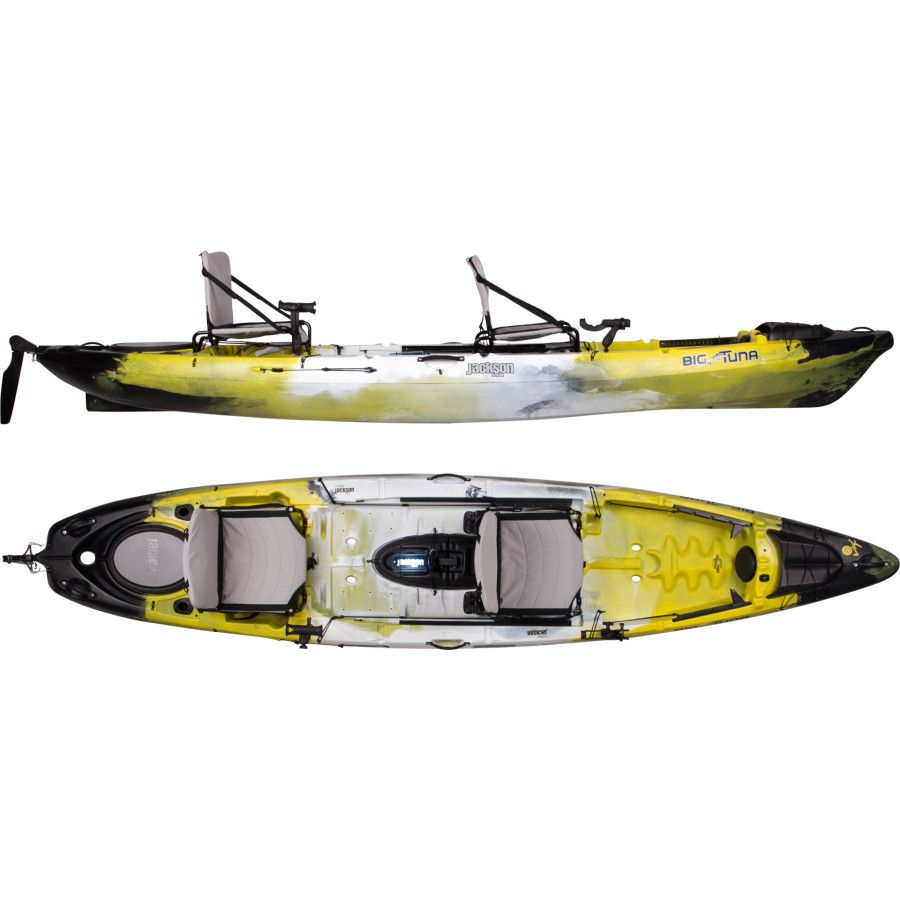 Jackson kayak big tuna kayak with rudder on sale sit for Fishing jackson kayak
