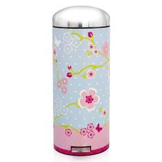 Brabantia Motioncontrol Pedaalemmer 30 L.Brabantia Floral Print Retro 30 Litre Pedal Bin Being Silly With