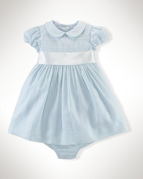 Cotton Silk Sash Dress Dresses Rompers Baby Girl 0 24 Months