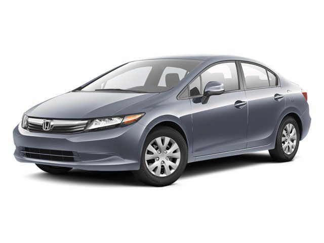 2012 Honda Civic Sdn Crystal Black Pearl For Sale In San Antonio, TX Vin: