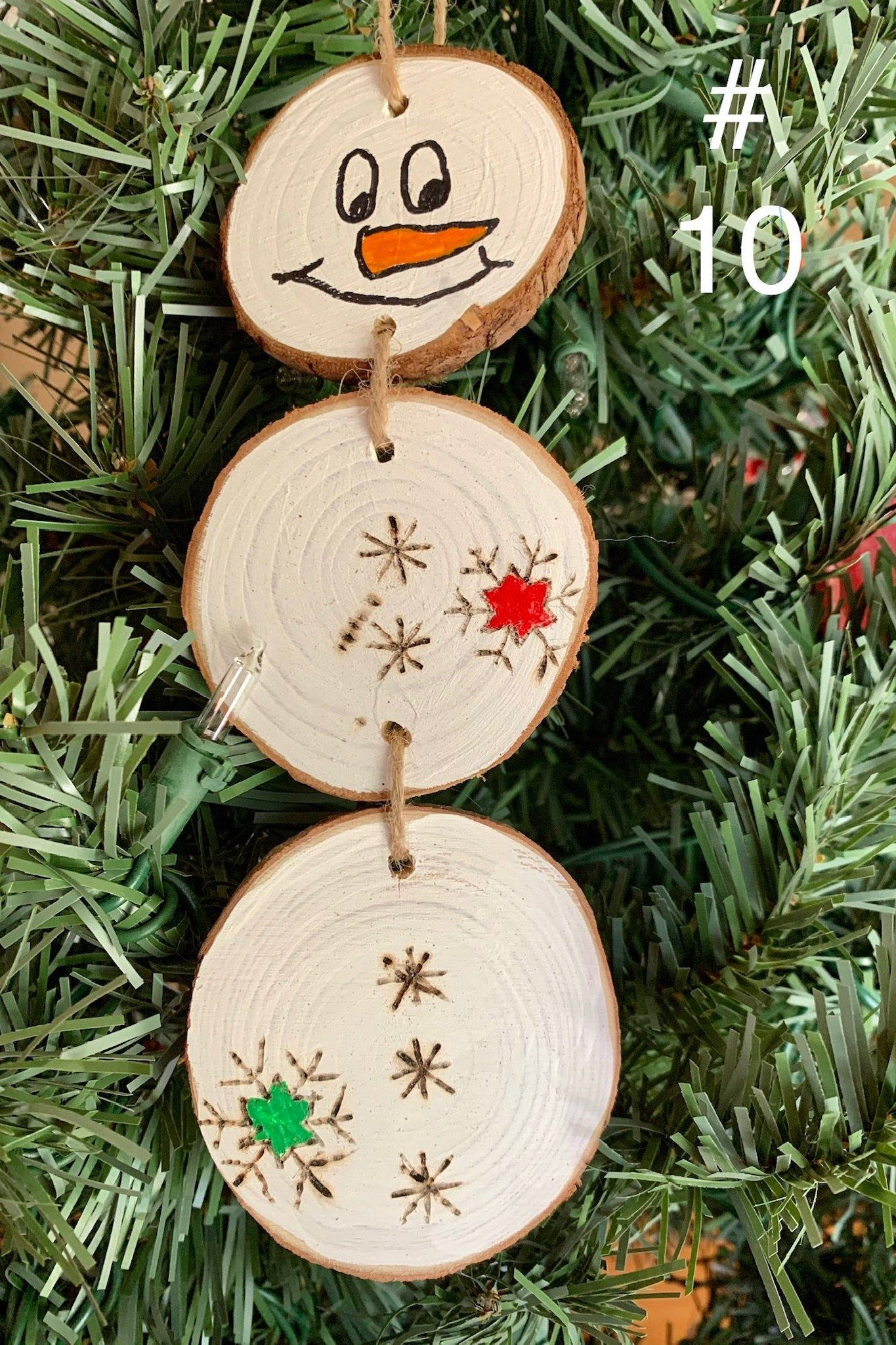 Wooden Slice Snowman Rustic Snowman Farmhouse Snowman Etsy In 2021 Wood Christmas Ornaments Diy Christmas Tree Ornaments Wood Christmas Decorations