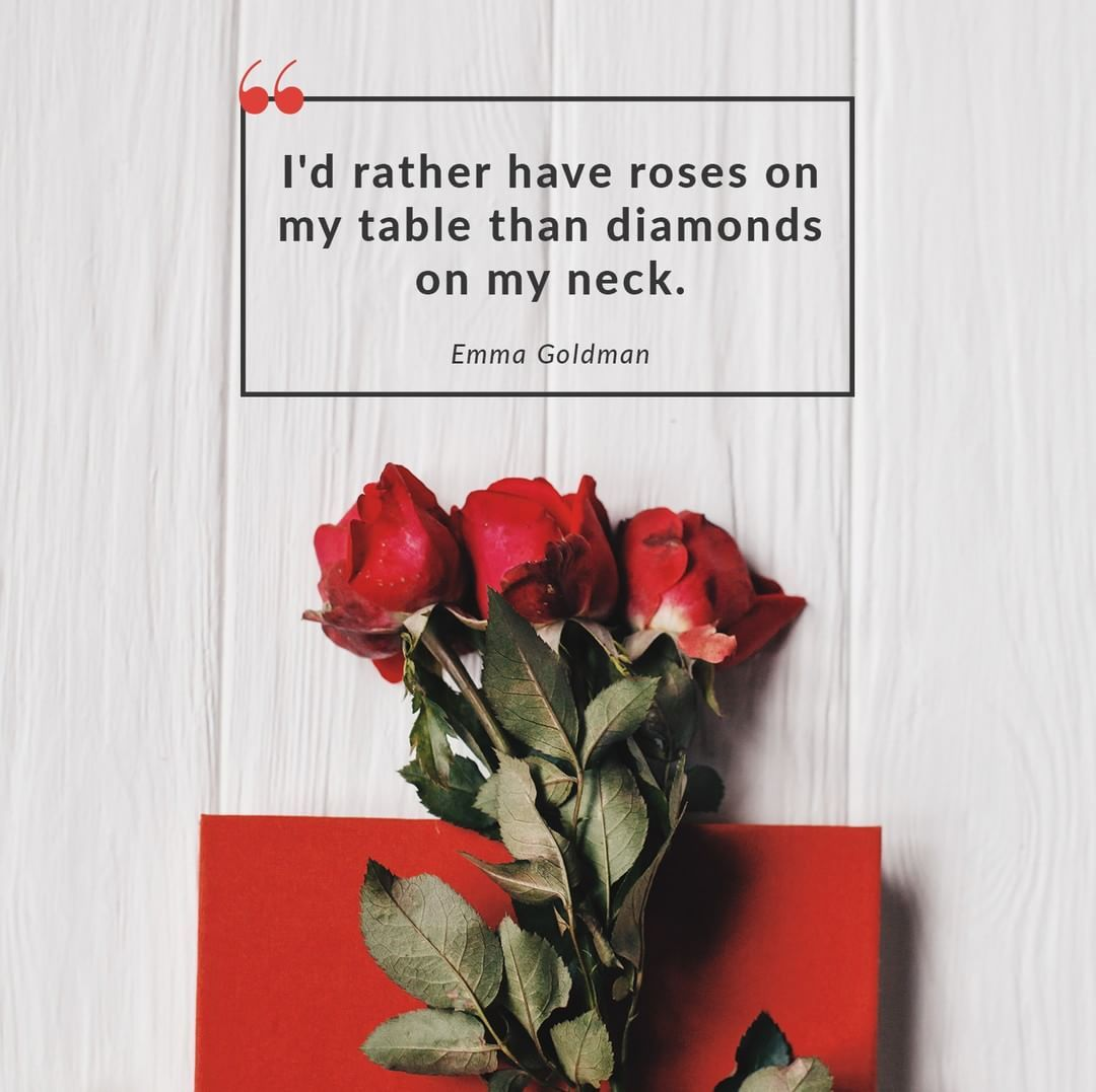 I D Rather Have Roses On My Table Than Diamonds On My Neck Quotes Quotesaboutflowers Quotesaboutroses Flower Quotes Rose Inspirational Quotes Motivation