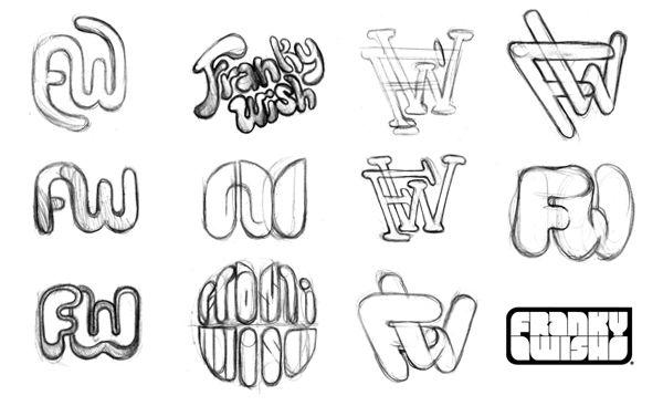 Boceto Logotipo Disenos De Unas Diseno Grafico Bocetos