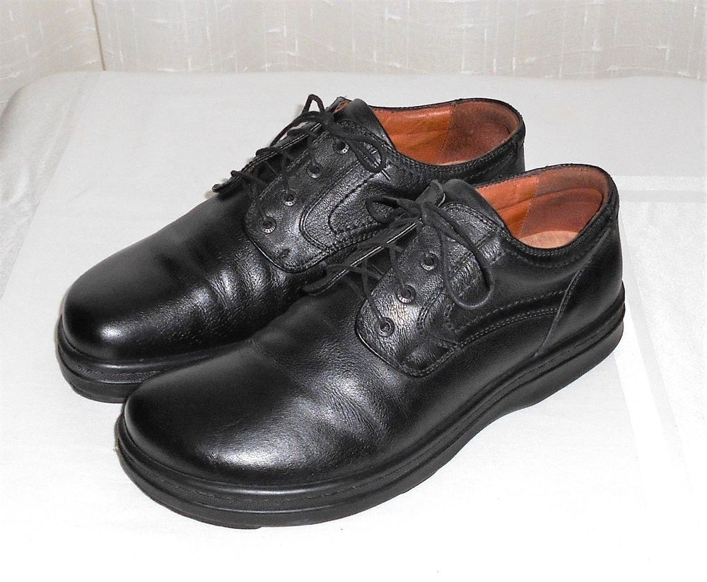 Skechers USA Brown Leather Long Wingtip Brogue Oxfords Mens Size US 12 EUR 46