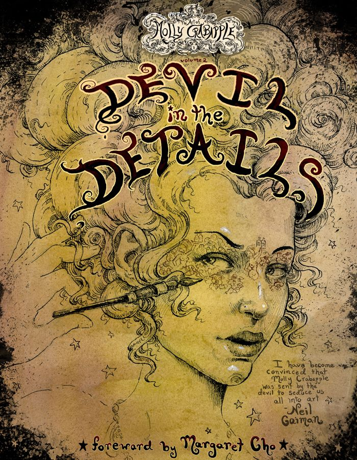 The Art of Molly Crabapple Volume 2: Devil in the Details