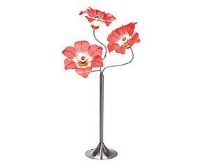 Lampada Da Terra Valenti.Lampada Da Pavimento In Ferro E Polipropilene Flower 65x161x35 Cm