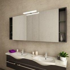 Spiegelschrank mit Leuchte Spiegelschrank