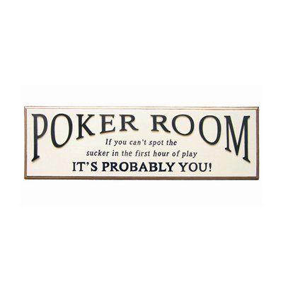 RAM Gameroom R216 Poker Room Sign Framed Art - Lowe's Canada