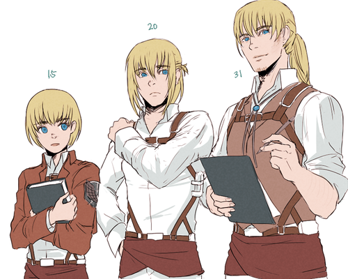 Like Baka Eu Ja Assisti Esse Anime: Armin All Grown Up Eh