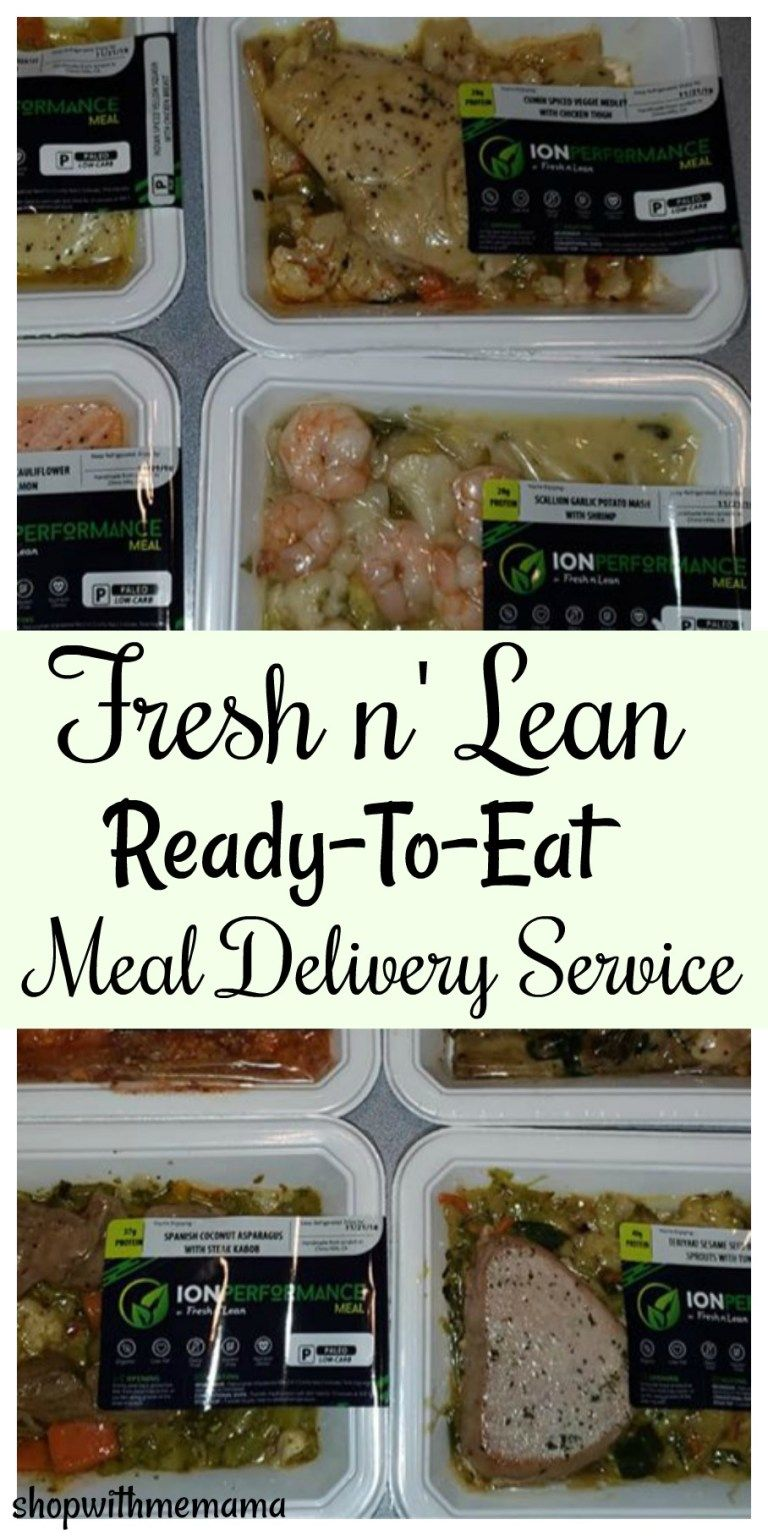 Fresh n' Lean ReadyToEat Meal Delivery Service Organic