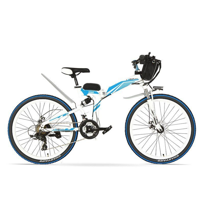 26 24 Inches Folding Electric Mountain Bike High Carbon Steel