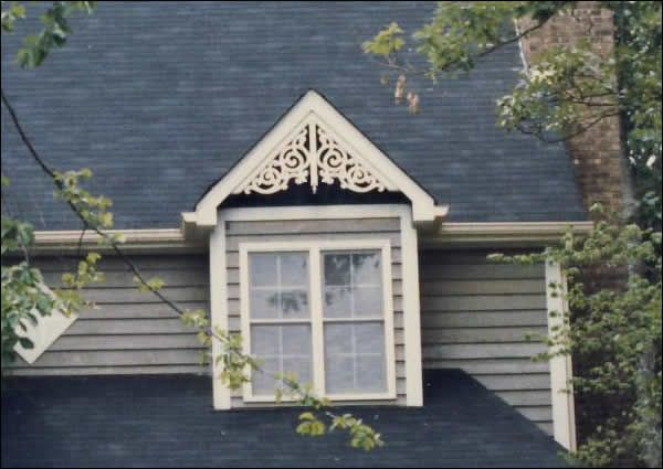 Dormer With Standard Old Lace Gable Decoration Http Www