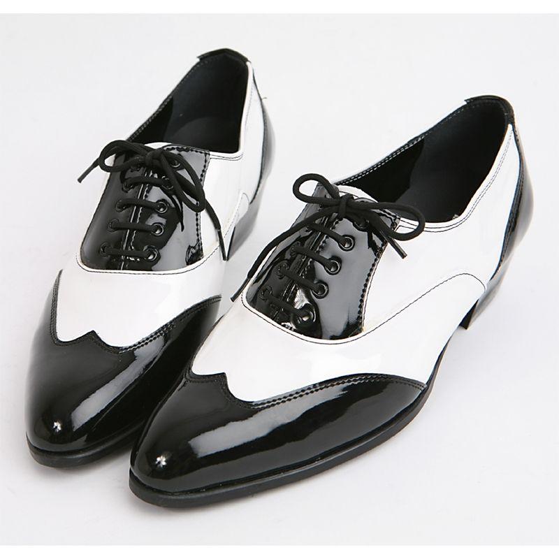 men black and white spectator shoe full brogue men's britsh ...