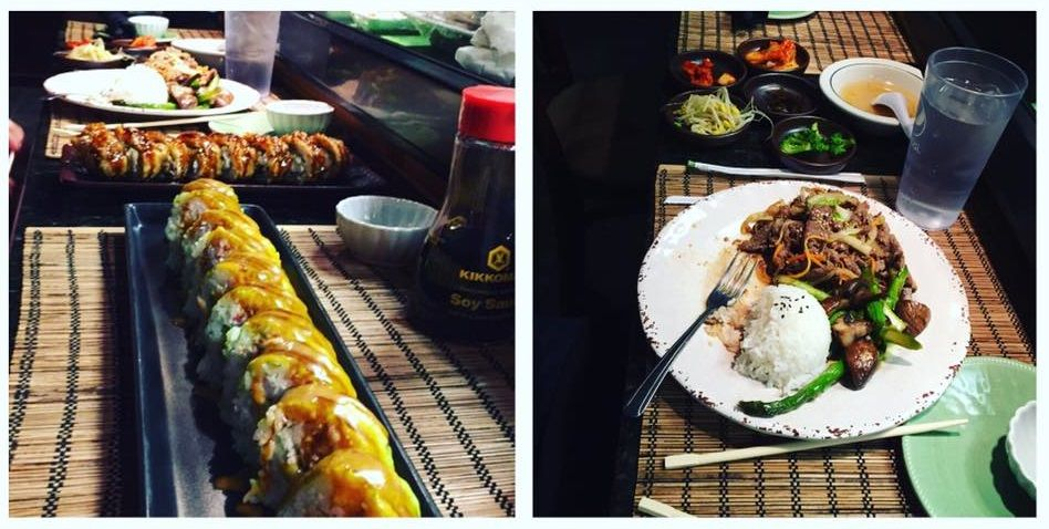 Sobahn Tulsa Ok Food Sushi Chicken