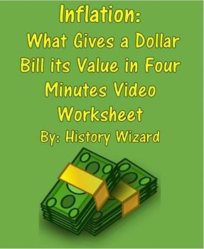 Inflation: What Gives a Dollar Bill its Value in Four Minutes ...