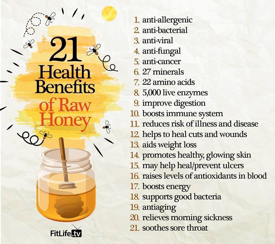 21 health benefits of raw honey | honey health benefits, raw