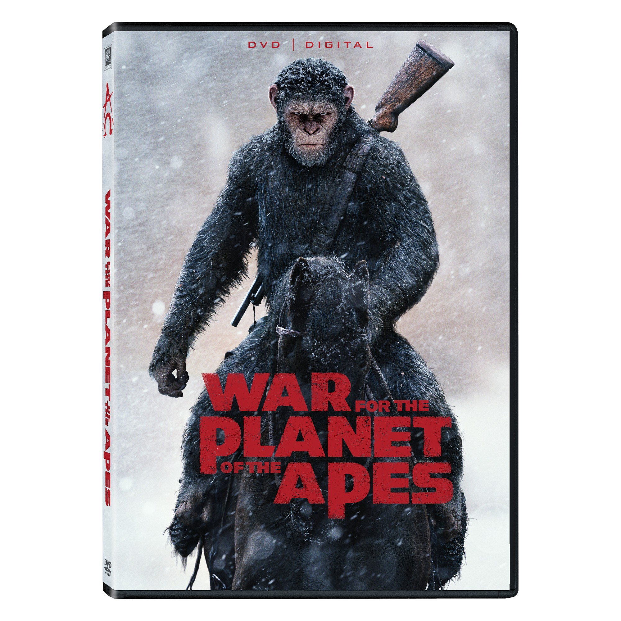 War For The Planet Of The Apes Dvd Digital In 2021 Planet Of The Apes Free Movies Online Apes