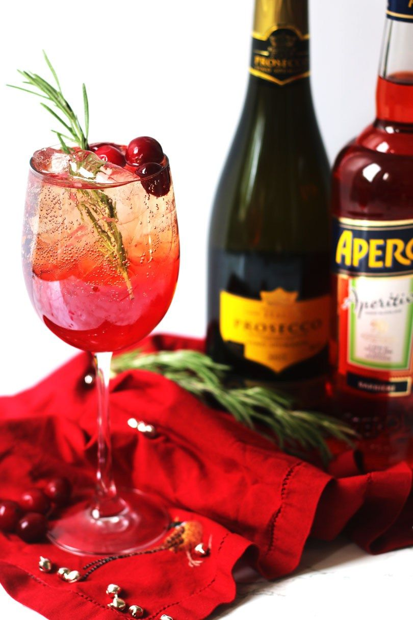 Cranberry Aperol Spritz A Christmas Cocktail Supper In The Suburbs Recipe Aperol Christmas Cocktails Aperol Spritz