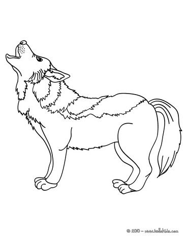 Wolf Coloring Pages Howling Wolf Animal Coloring Pages Coloring Pages Dog Coloring Page