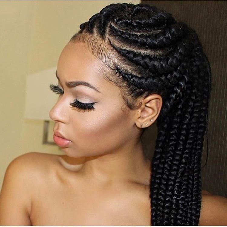 Pin On Coiffures Tresses