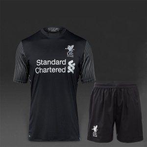 Liverpool FC 2017-18 Season Away Goalkeeper LFC Kit  K465   3a78cd37e