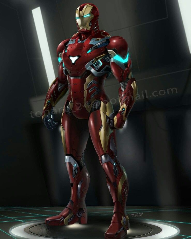 Iron man superman suit