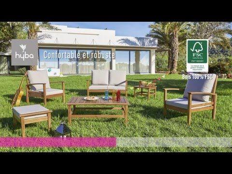 Gamme Mobilier De Jardin En Bois D Acacia Gamme Hyba Acacia 154 Mobilier Jardin Jardins En Bois Jardins